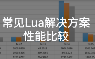 Unity项目常见Lua解决方案性能比较