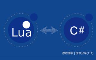 Lua与C#之间的穿梭问题