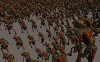 创建大量角色的GPU动画系统