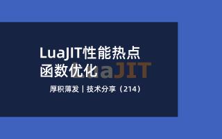 LuaJIT性能热点函数优化